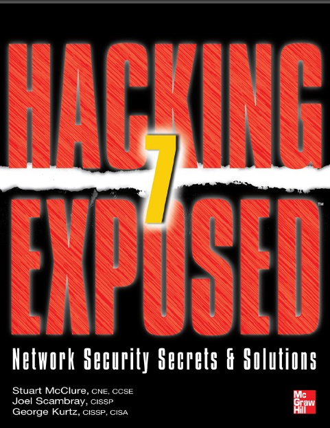 Hacking Exposed: Network Security Secrets & Solutions Book Cover